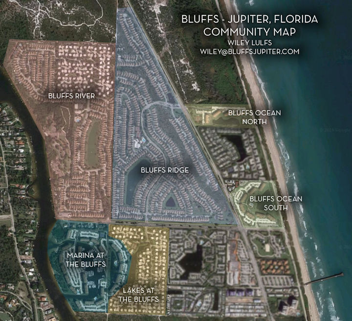 Map Jupiter Florida.Bluffs Jupiter Real Estate Official Real Estate Website Of The